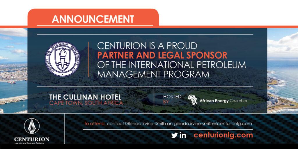 International Petroleum Management Program   Centurion